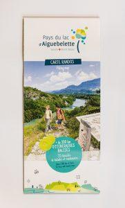 Carte randonnée Pays du Lac d_Aiguebelette