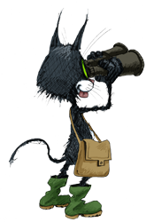 Mascotte de la Dent du Chat