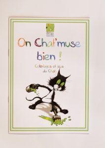 cahier de jeu et coloriage du chat