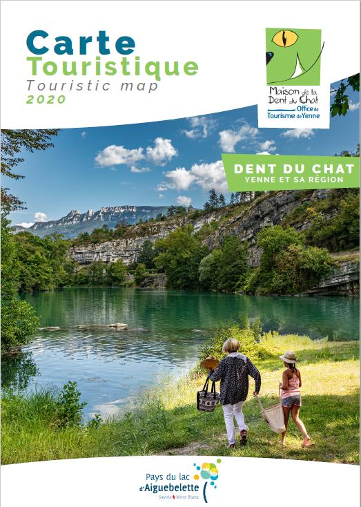 """Carte Touristique """"Dent du Chat"""" - 2020"""
