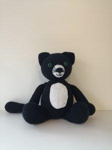 Peluche chat - Grand format - Crochet de Sandrine