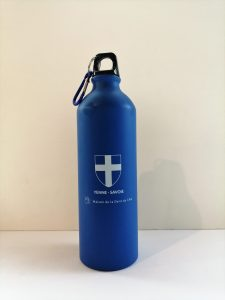 Gourdes 800 ml croix de Savoie - bleue - OT Yenne