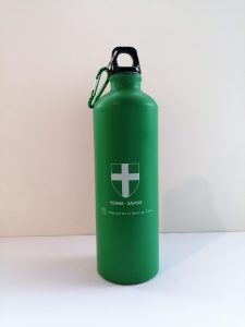 Gourdes 800 ml croix de Savoie - verte - OT Yenne