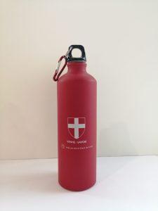 Gourdes 800 ml croix de Savoie - rouge - OT Yenne