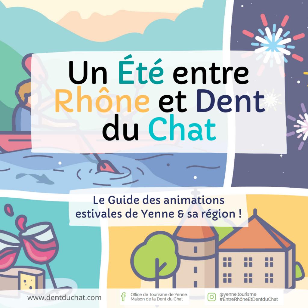 Visuel promo web - Guide de l'été Yenne & sa région